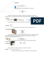 Basic Electrical Devices