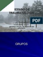 Repaso de Traumatologia