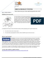 Découvrir Facebook et Twitter