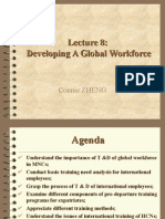 Developing a Global Workforce