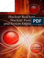 Nuclear Reactors, Nuclear Fusion and Fusion Engineering by a. Aasen, P. Olsson