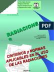 HUGO MARTIN ATOMICA CORDOBA RADIACIONES UTN VILLA MARIA CRITERIOS Y NORMAS SEGURIDAD RADIOLOGICA