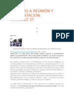 Articulo 37 (Constitución Política De Colombia).