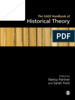 PARTNER, Nancy y FOOT, Sarah - The Sage Handbook of Historical Theory