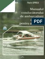 Manualul Conducatorului de Ambarcatiuni Cu Motor Pentru Agrement