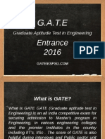 Gate Coaching Classes Bangalore - Best Institute for GATE, IES, PSU