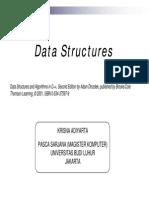 Data Structures and Algorithms in C++ oleh Krisna Adiyarta