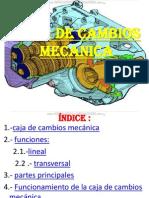 Curso Caja Cambios Mecanica