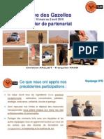 dossier sponsoring h2o rallye des gazelles 2016