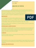 Analisis de Porter