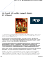 Critique de La Technique_ Ellul Et Debord _ l e s o b s c u r s