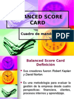Balanced Scorecard Fundamentos