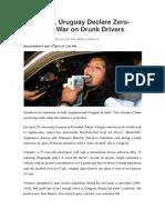Alcohol policies