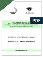 Primera Circular XXXI Congreso ADILLI (1)