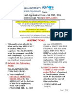 Asmph Fa Application - New Student - 2015-16 Final