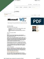 01 Visao Geral Do HTML5
