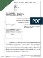 Notestine v. Guidant Corporation et al - Document No. 11