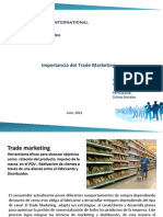Mapa Mental Trade Marketing