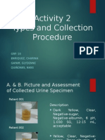 Activity 2 Urine Types Collection and Procedures