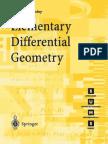 Elementary Differential Geometry Pressley