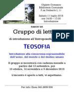 Teosofia Gruppo Di Lettura 2015 Olgiate