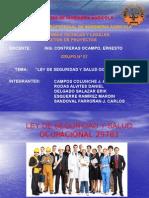 2.2. Diapositivas Ley de Seguridad Ocupacional