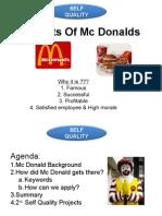 2. Secrets of MCdonalds