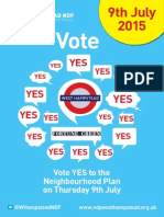 West Hampstead NDF Leaflet