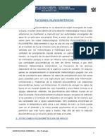 ESTACIONES PLUVIOMÉTRICAS EN LA REGIÓN DE PASCO