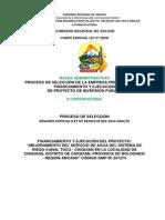 Bases - Canal de Tucu II Covocatoria