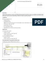 MWA Form Personilisation