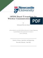 ofdmt transmission