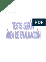 Tests Por Areas LAURA CUESTA
