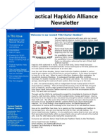 Tactical Hapkido Alliance Newsletter December 2009