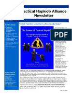 Tactical Hapkido Alliance Newsletter January 2010