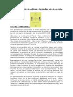 Presentación de  La Revista Escrita