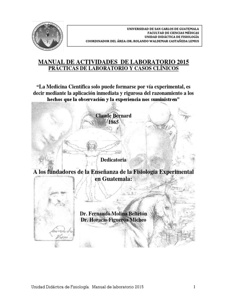 Manual de Laboratorio 2015 fisiologia