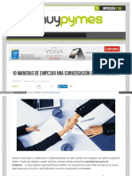 Www Muypymes Com 2015-06-03 Maneras Empezar Conversacion