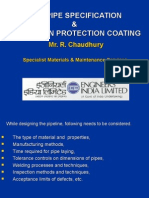 Line Pipe Specification&Corrosion Protection Coating