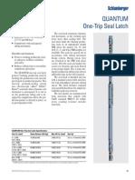 p57 Quantum One Trip Seal Latch