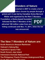 7 Wonders of Nature