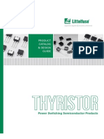 Littelfuse Thyristor Catalog Datasheets App Notes