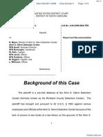 Davis v. Myers et al - Document No. 5