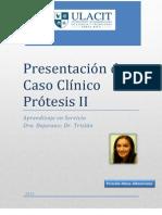 Presentación de Caso Clínico Prótesis Parcial