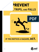 Slip Trip Fall Book