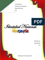 Identidad Nacional Venezolana