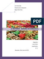 La Reforma Agraria