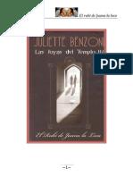 El Rubí de Juana La Loca - Joyas Del Templo IV - Juliette Benzoni-F