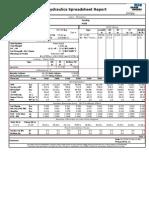 Drilling hydraulics analysis - CWD