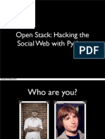 Social Plumbing PyCon 2010